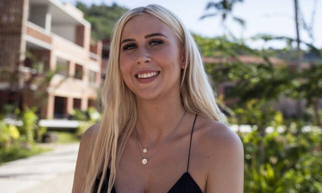 CATHRINE INGEBRETSEN: Søte Cathrine fra Vennesla har planer om å lure seg gjennom konkurransen. Foto: Marie Røssland / Dagbladet