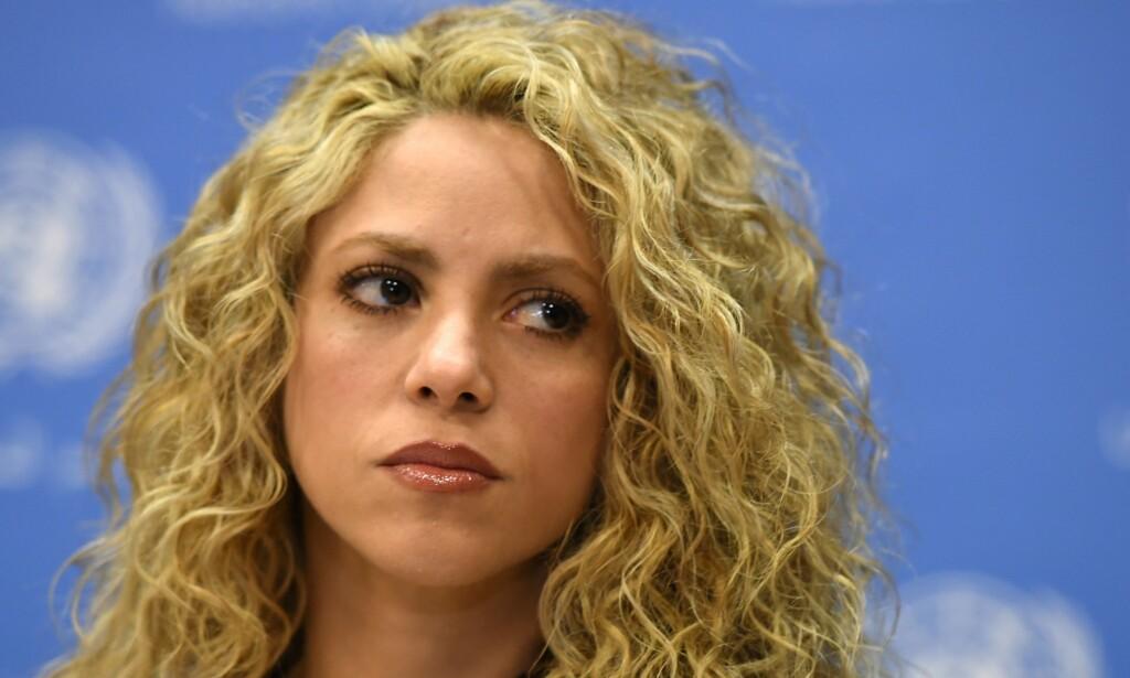 SKAPER OVERSKRIFTER: Popartisten Shakira (40) har fått spanske myndigheter på nakken etter mistanker om skatteunndragelse. Foto: AFP/ NTB Scanpix
