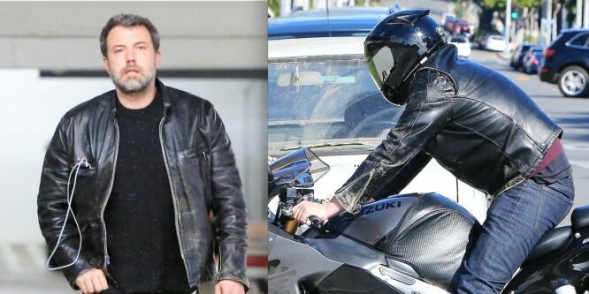 Ben Affleck i alvorlig motorsykkelulykke