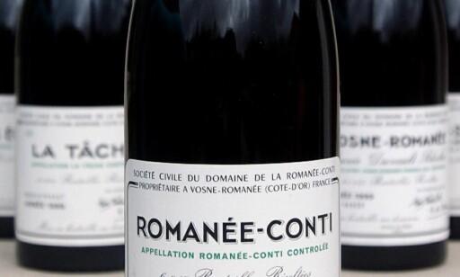 KOSTBAR: - DRC Romanee-Conti er en av verdens beste og mest ettertraktede viner, sier Dagbladets vinanmelder Robert Lie.