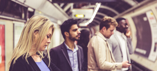 - Folk er ofte langt mindre sosiale enn hva de har godt av
