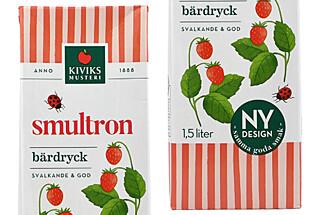 MEST KUNSTIG: Bærdrikken inneholder bare 0,5 prosent markjordbærsaft. Foto: Äkta Vara