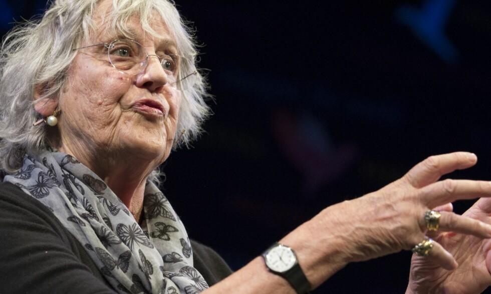 KRITISK: Den kjente kvinnesaksforkjemperen Germaine Greer er ikke nådig mot #metoo-kampanjen. Foto: Shutterstock / NTB scanpix