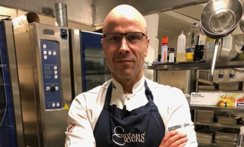 Peter Hatcher, kjøkkensjef Foto: Essens Catering
