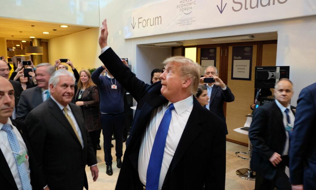 image: Trump i løvens hule: - Det blir amerika først