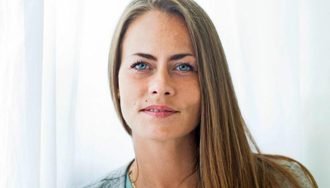 <strong>STORSVINDLER:</strong> – Det er jo helt latterlig å være sammen med en mann som viser seg ikke å være den han gir seg ut for å være, sier Amanda Kastrup (30), som nå har fått avstand til det hele. FOTO: Nellie Møberg