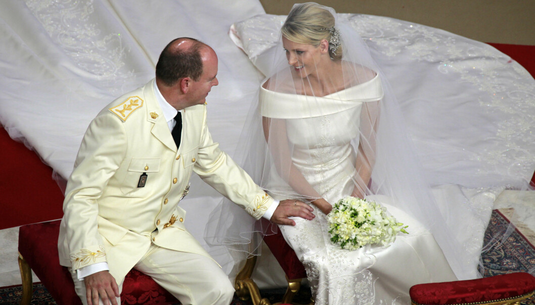 BRYLLUPET: 2. juli 2011 ble det avholdt en katolsk bryllupsseremoni for Charlene og Albert. Foto: NTB Scanpix