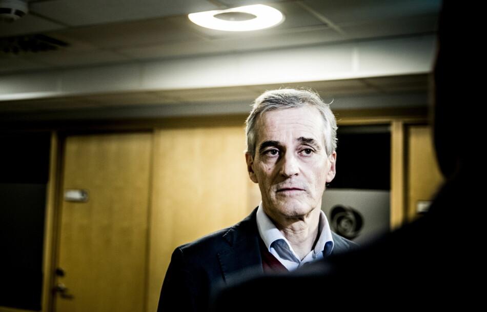 HOLDER MØTE: Arbeiderpartiet holder ekstraordnenært landsstyremøte på Gardermoen i dag. Foto: Christian Roth Christensen / Dagbladet