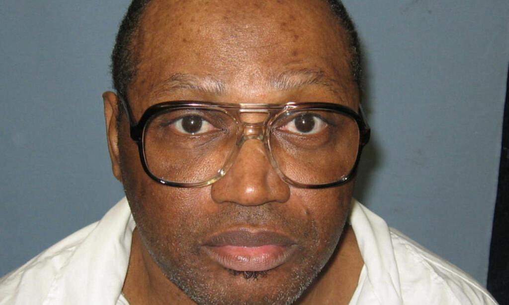 DØDSDØMT: Vernon Madison er en av dem som har ventet lengst på å få fullført dødsdommen sin i Alabama. Foto: AP
