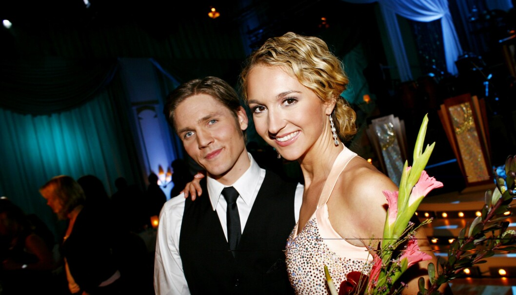 DELTAKER: I 2007 var Pia med i «Skal vi danse». Her med dansepartner, Thomas Wendel. Foto: NTB Scanpix