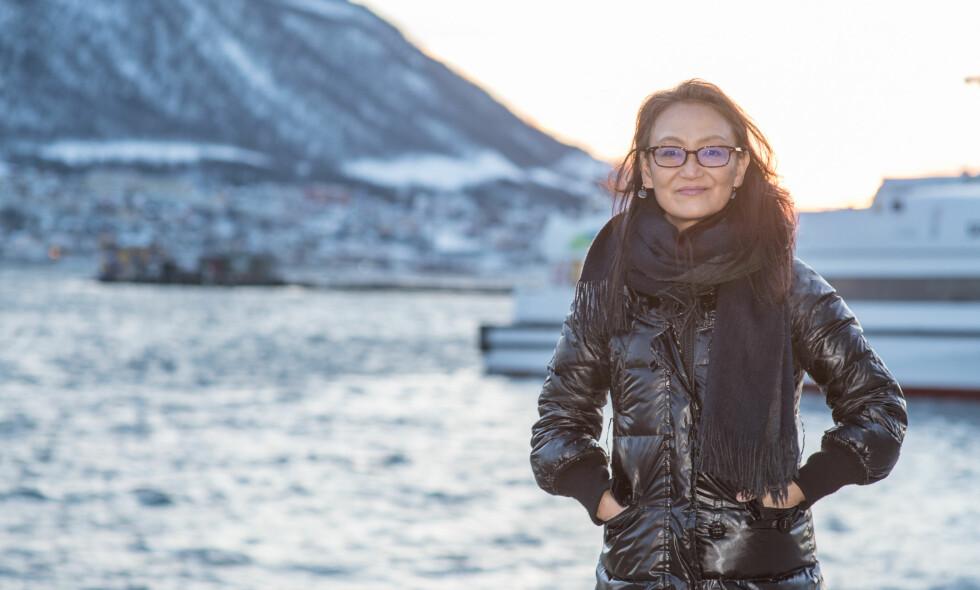 FORSVARER LANDSBYEN: Den japanskamerikanske regissøren Megumi Sasaki har laget et kritisk motsvar til dokumentaren «The Cove» fra 2009. Foto: Mats Gangvik / TIFF