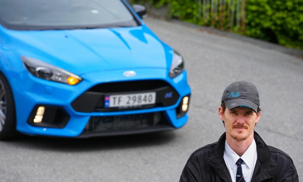image: Evald kjører taxi langt utenom det vanlige