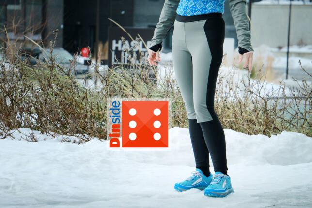 JOHAUG: En skikkelig god og varm tights, som også holder vinden ute. Foto: Ole Petter Baugerød Stokke
