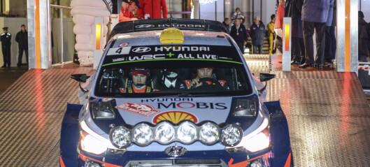 Mikkelsen ute av Rally Monte Carlo med ladeproblemer