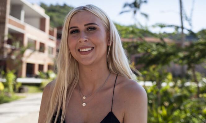 <strong>CATHRINE INGEBRETSEN:</strong> Søte Cathrine fra Vennesla har planer om å lure seg gjennom konkurransen. Foto: Marie Røssland / Dagbladet
