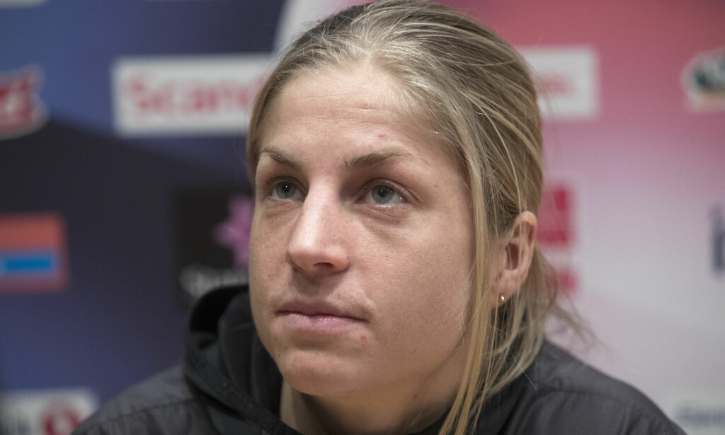 VRAKET: Astrid Uhrenholdt Jacobsen får ikke gå åpningsdistansen under OL. Foto: Terje Bendiksby / NTB scanpix