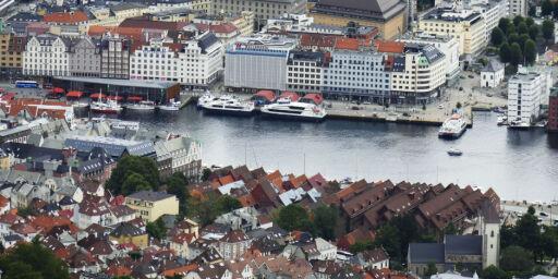 image: Storaksjon i Bergen. Minst åtte spisesteder stengt