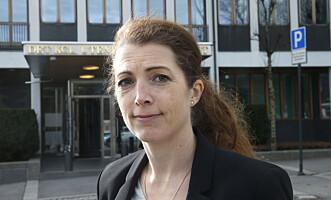 BEGRENSET HANDLINGSROM: UDs pressetalsperson Astrid Sehl sier deres handlingsrom er begrenset i en sak der de ikke er part. Foto: Vidar Ruud / NTB Scanpix