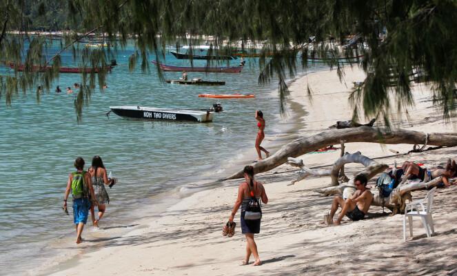 DYKKEPARADIS: Koh Tao i Thailandbukta er et yndet reisemål for dykkere fra hele verden. Foto: Chaiwat Subprasom / Reuters / NTB Scanpix