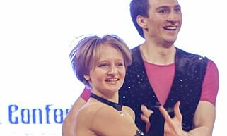 - SKILT: Ifølge Bloomberg News er Jekaterina Vladimirovna Tokhonova og Kirill Sjamalov nå skilt. Her er hun avbildet med en dansepartner. Foto: REUTERS/Jakub Dabrowski/File Photo