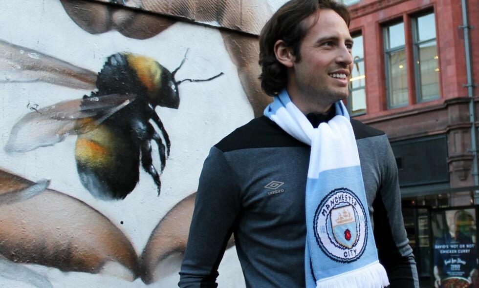 OVERGANG: Mikkel Diskerud har signert en kontrakt med Manchester City. Det melder i hvert fall Umbro, som er sponsor for nordmannen. Foto: Umbro