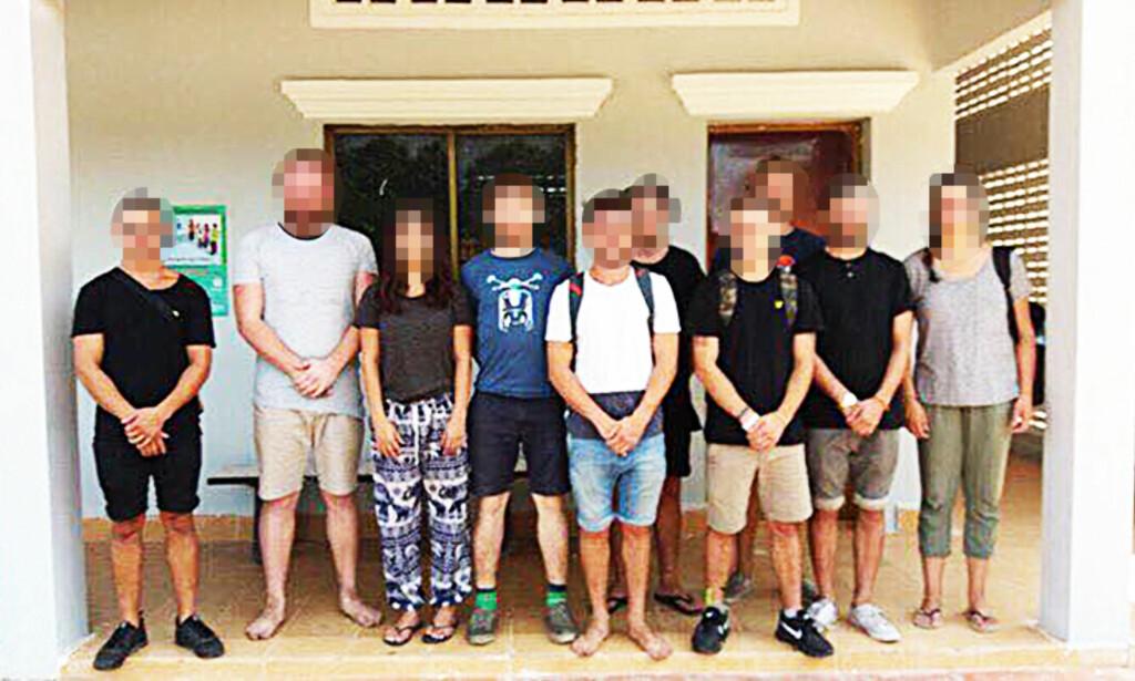 LØSLATT: En 22 år gammel nordmann var pågrepet og siktet for å ha arrangert fester med «pornografisk dans» i Kambodsja. Nå er 22-åringen løslatt. Foto: Politiet
