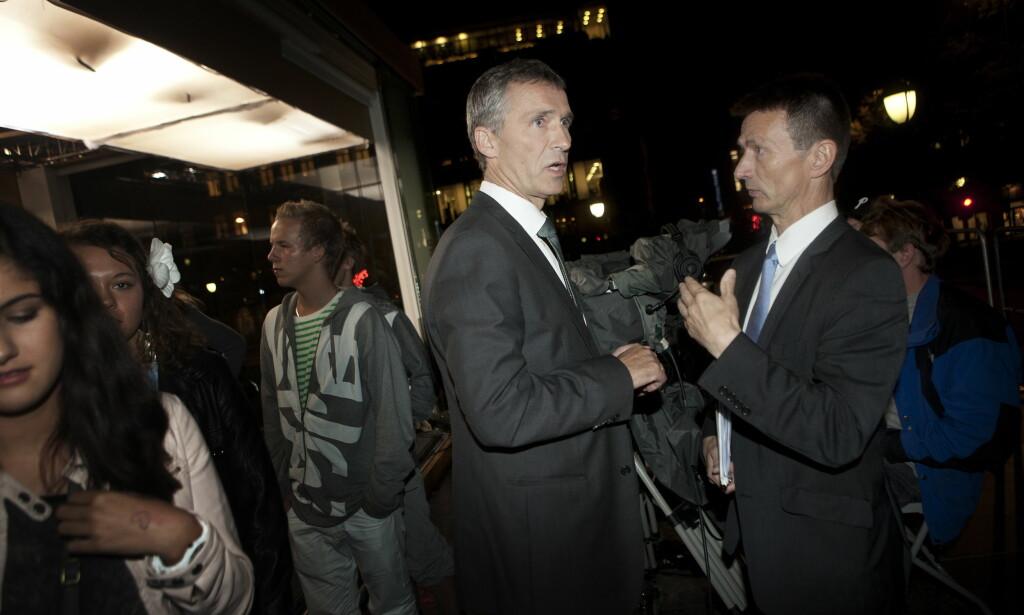 JENS' HØYRE HÅND: Som statssekretær ved Statsministerens kontor i 2011-13 var Amundsen Jens Stoltenbergs høyre hånd. Foto: Anita Arntzen / Dagbladet