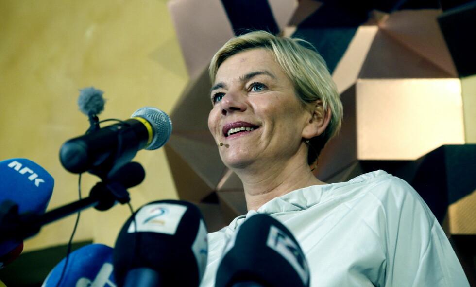 LOVORD: Ap's klubbleder på Stortinget, Ingunn Yssen, har bare lovord å komme med om Hans Kristian Amundsen. Foto: Jacques Hvistendahl /Dagbladet