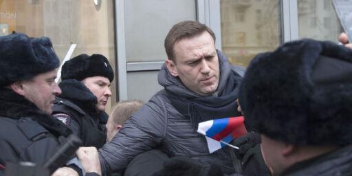 image: Navalnyj løslatt etter protester i Russland