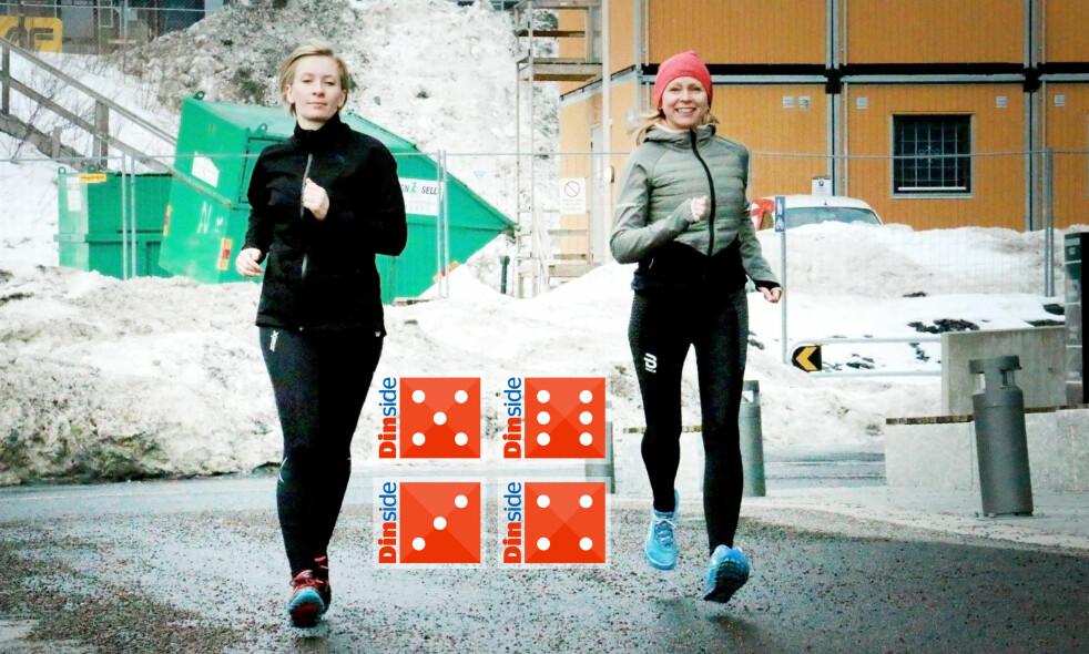 <strong>TEST AV VINTERTIGHTS:</strong> Vi har testet seks løpe- og treningstights for vinterbruk. Det er stor forskjell på hvor varme de er. Foto: Ole Petter Baugerød Stokke