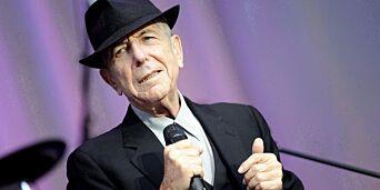image: Leonard Cohen vant første Grammy for en egen låt- etter sin død