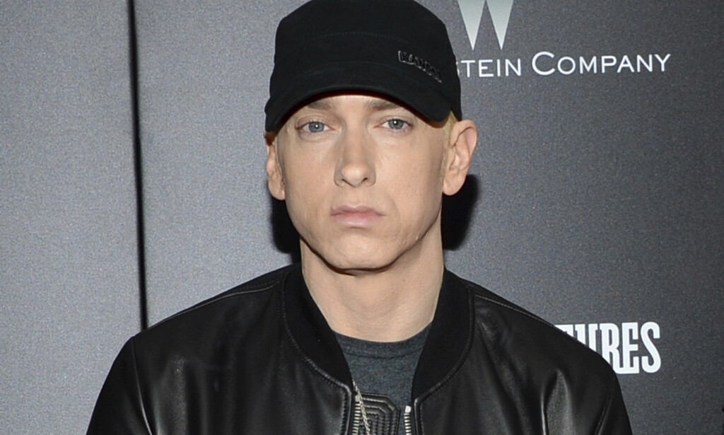 Eminem holder konsert på Voldsløkka i Oslo i juni. FOTO: NTB Scanpix