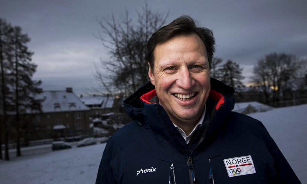 TIL OL: Tom Tvedt er den eneste ordinære representanten for styret i NIF i OL. Det på grunn av trange tider økonomisk. Foto: Tore Meek / NTB scanpix
