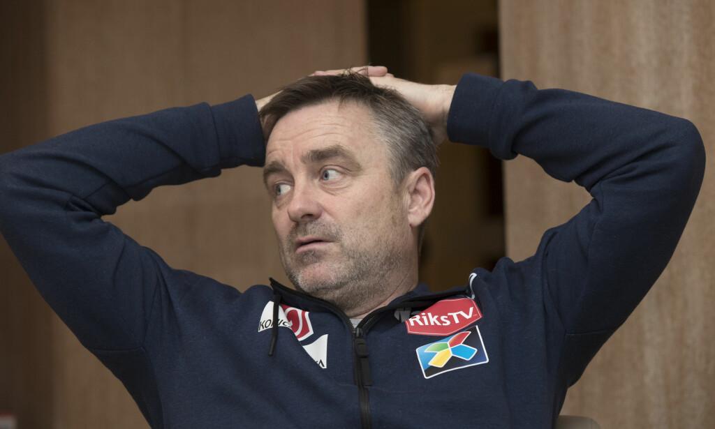 TØFF SITUASJON: Sportssjef Clas Brede Bråthen føler med østerrikerne som sliter. Foto: Terje Bendiksby / NTB scanpix