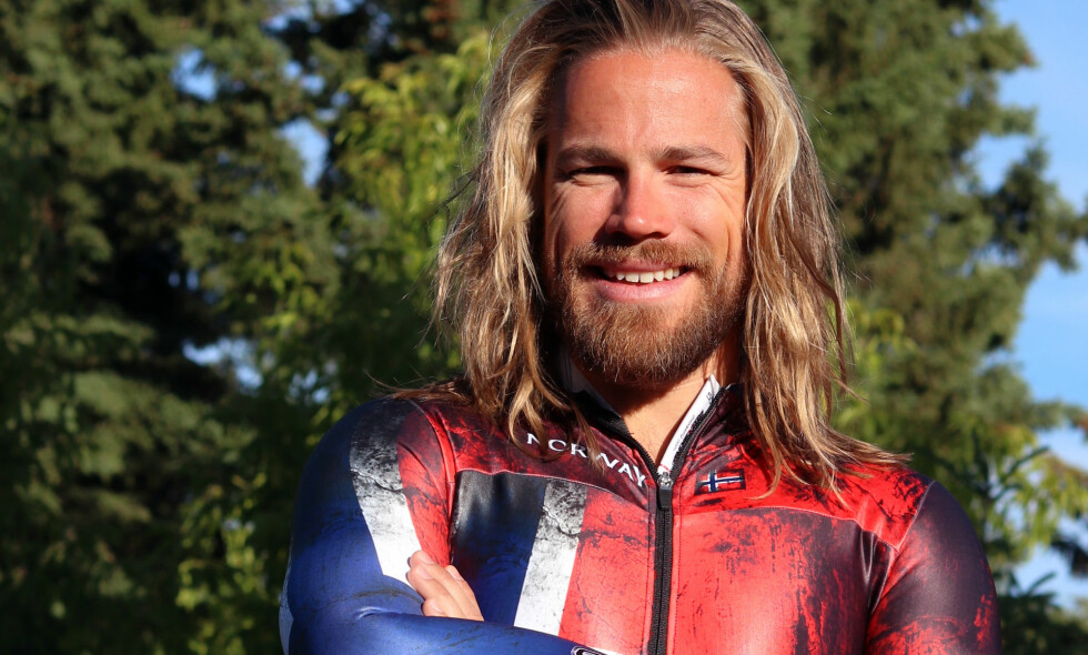 OL-HÅP I SKELETON: Alexander Henning Hanssen representerer Norge i skeleton OL i Pyeongchang. Foto: Privat