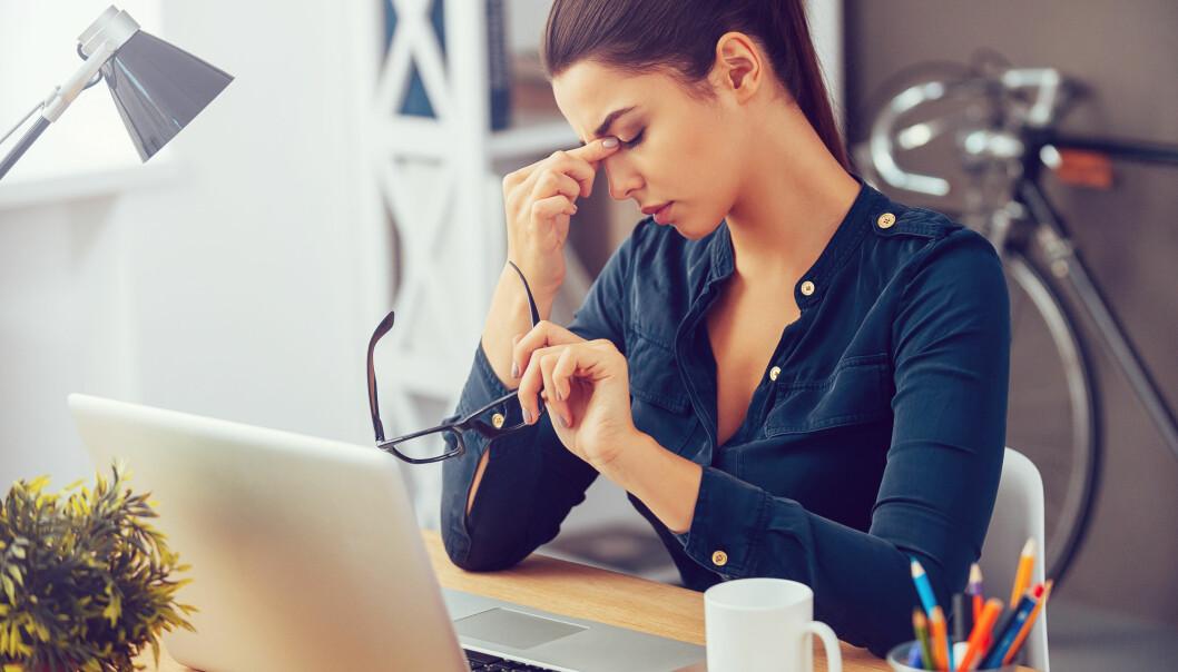 <strong>STRESS:</strong> Litt stress er ikke farlig, men det er viktig med pauser. FOTO: NTB Scanpix