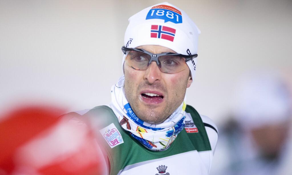 TRØBLETE SESONG: Magnus Moan har preget kombinertsporten i flere år. Han har fire medaljer fra OL, deriblant ett gull i lagkonkurranse. I VM har han elleve medaljer, ett gull i lagkonkurranse. Til Sør-Korea skal trønderen ikke. Foto: NTB Scanpix