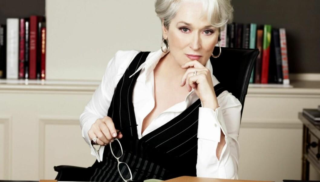 STRENG: Vi har ikke problemer med å se for oss Meryl Streep i denne rollen, nok en gang. Foto: The Devil Wears Prada