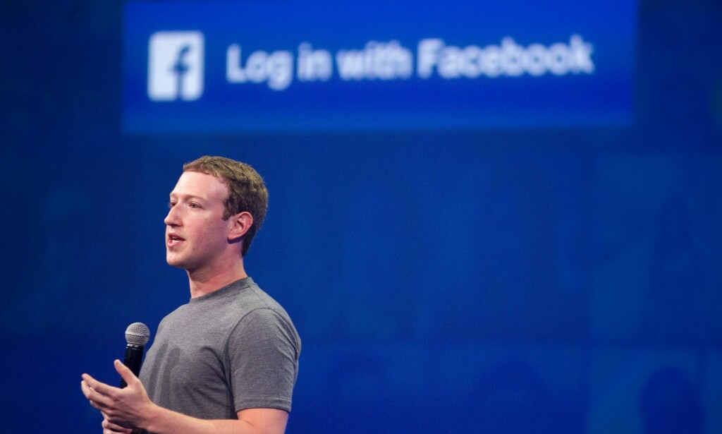 TJENER STORE PENGER: Facebook og Mark Zuckerberg. Foto: AFP / Josh Edelson / NTB Scanpix