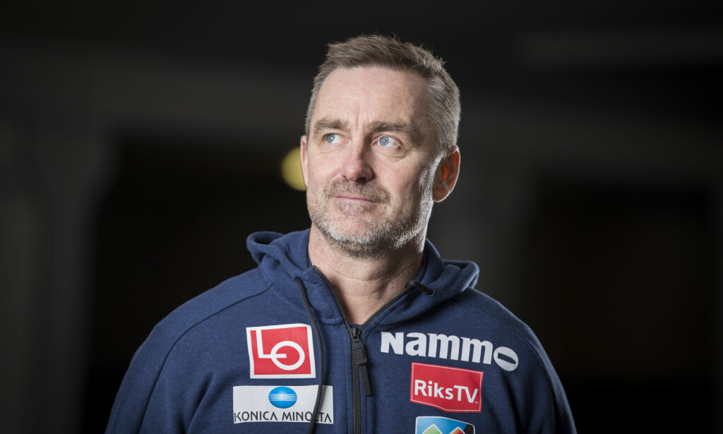 Hoppsjef: Clas Brede Bråthen avbildet under et seminar i Holmenkollen. Foto: NTB SCANPIX
