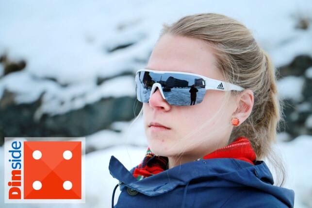 DUGGER IKKE: Adidas-brillene er det eneste av testproduktene som ikke dugger i det hele tatt, som er veldig imponerende. Foto: Ole Petter Baugerød Stokke.