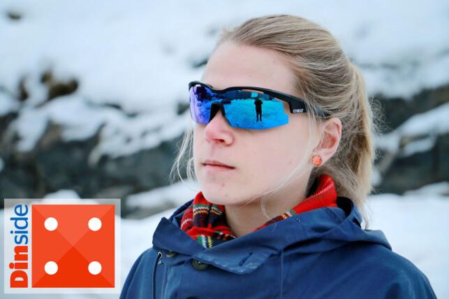 PERFEKT PASSFORM: Disse brillene fra Bliz former seg fint etter ansiktet, men lever ikke opp til forventningene om markedets beste antiduggbehandling. Foto: Ole Petter Baugerød Stokke.