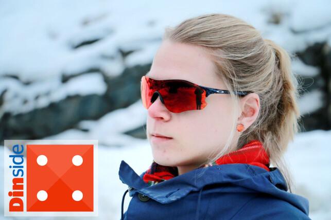 DYRT: Du får en helt grei sportsbrille hvis du velger disse fra Oakley, men vi hadde forventet mer ut fra prisen. Foto: Ole Petter Baugerød Stokke.