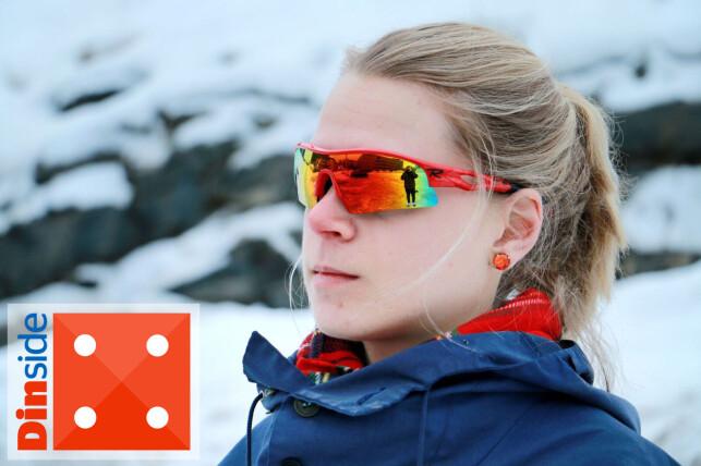 BILLIG OG BRA: Testens billigste brille gir deg akkurat det du trenger for en treningstur i løypa. Foto: Ole Petter Baugerød Stokke.