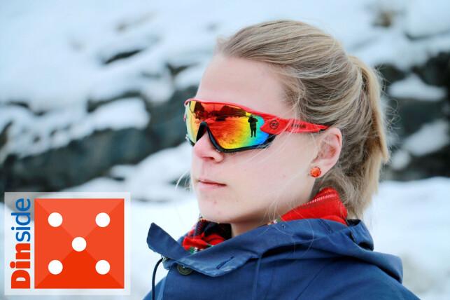 SITTER SOM STØPT: Rossignol leverer en brille som sitter godt og beskytter mot det meste du kan møte på en skitur. Foto: Ole Petter Baugerød Stokke.