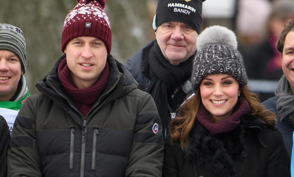 TO DAGER IGJEN: Torsdag ankommer hertuginne Kate og prins William Norge. Hertugparet skal tilbringe to dager i Oslo med en fullspekket plan for dagene. Foto: NTB Scanpix.