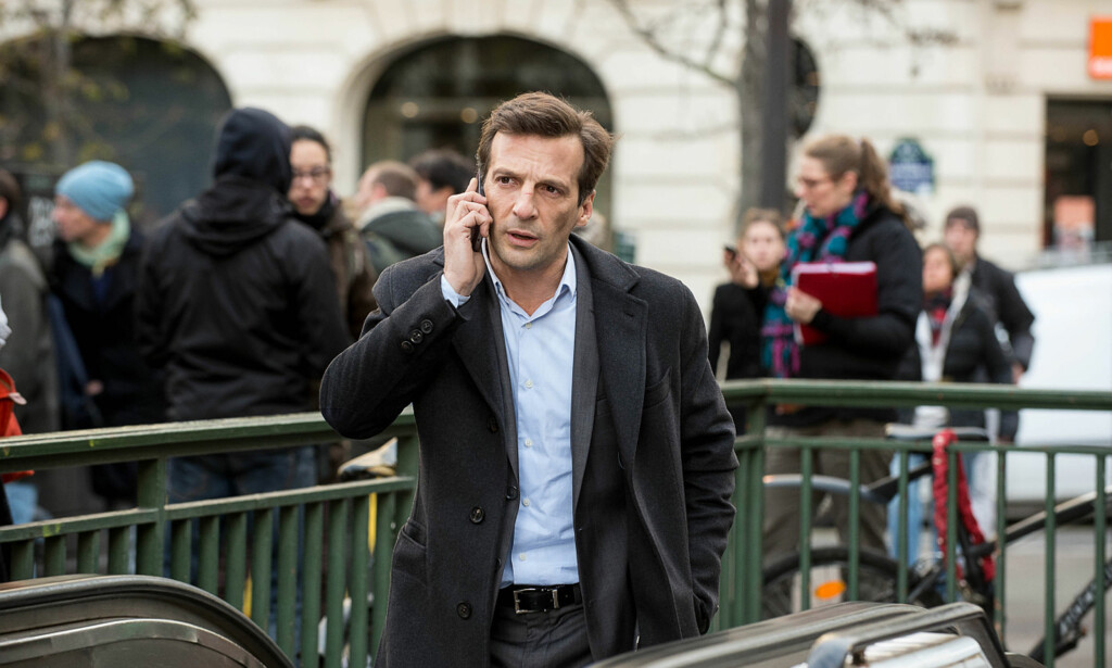 SPIONTHRILLER: Mathieu Kassovitz («Den fabelaktive Amélie fra Montmartre», «La Haine») i kritikerrose «Le Bureau». Foto: NRK