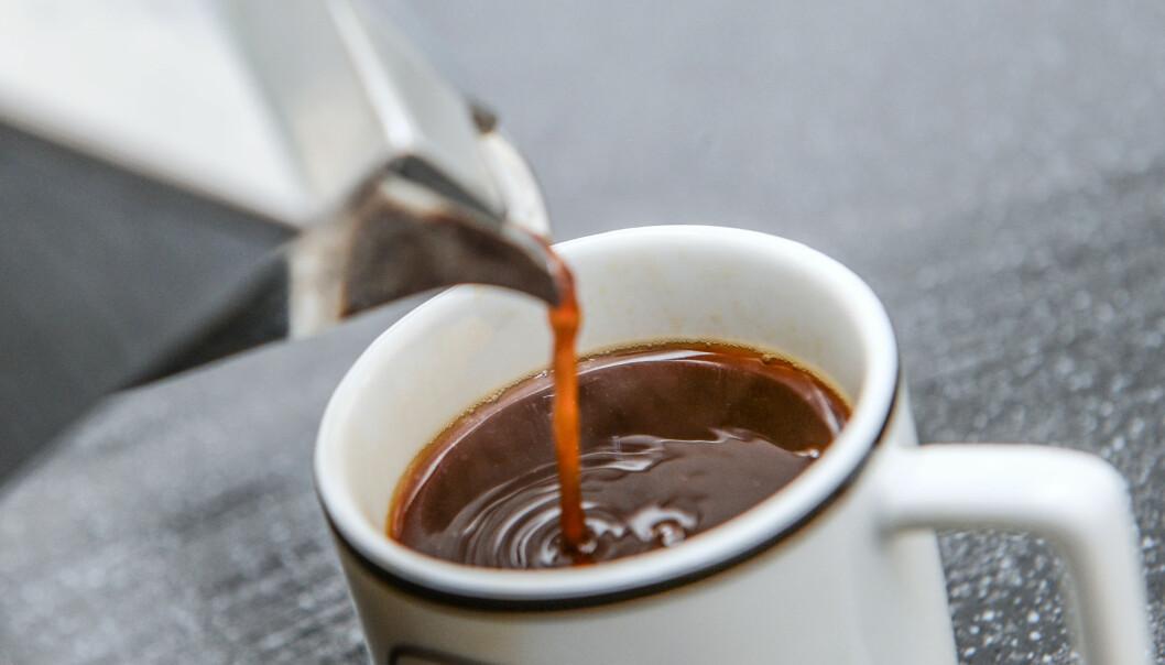 POPULÆR DRIKKE: Kaffe drikkes over hele verden. Foto: Anthony Devlin / Pa Photos / NTB Scanpix