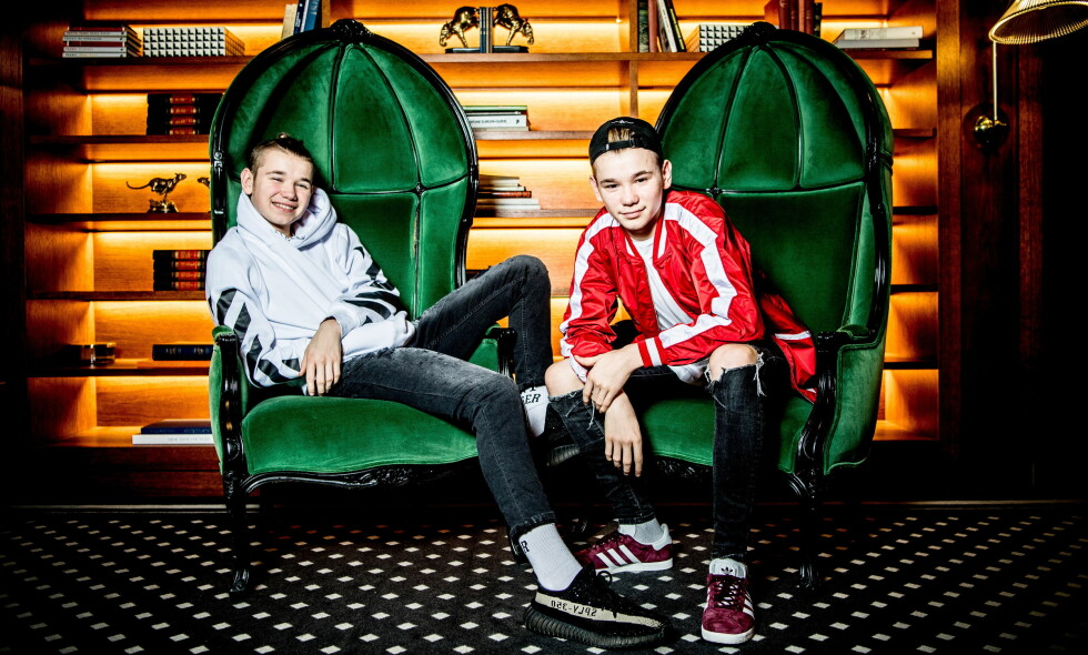 SLAKT: Marcus & Martinus rakk ikke å komme lengre enn til København før de mottok slakt fra musikkanmelder. For øyeblikket er de på en stor Europa-turné. Foto: Thomas Rasmus Skaug / Dagbladet