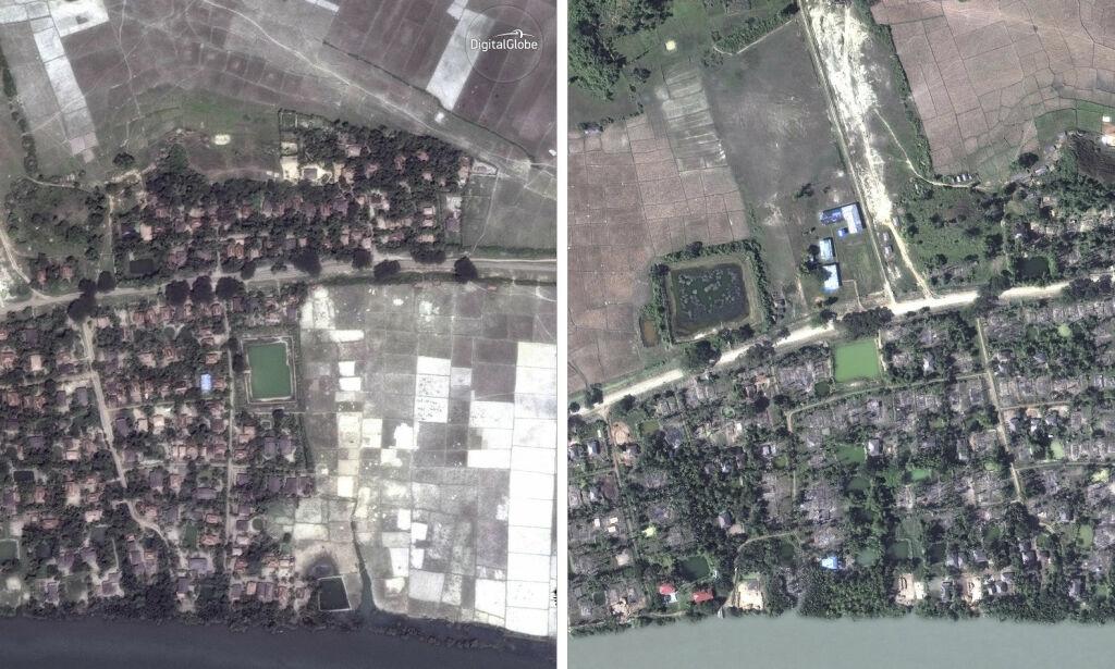 image: AP: Fem massegraver avdekket i Myanmar